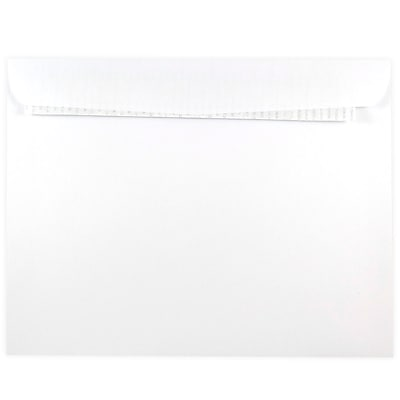 JAM Paper® 9 x 12 Open End Envelopes with Peel and Seal Closure, White, 500/box (356828785)