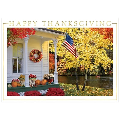 Https Www Staples 3p Com S7 Is X Images For Jam Paper Blank Thanksgiving Card