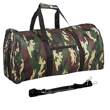 World Traveler Camouflage 22'' Duffel