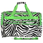 World Traveler Zebra 22'' Travel Duffel
