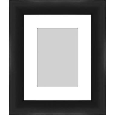 PTM Images Contemporary Photo Frame; Black