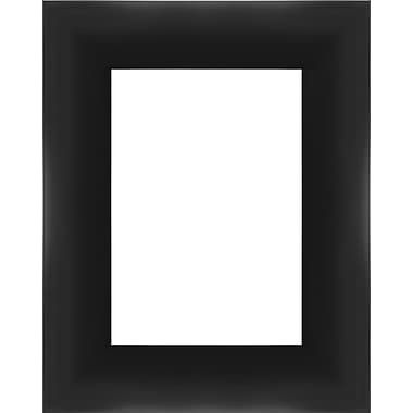 PTM Images Contemporary Photo Frame; Black