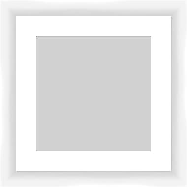 PTM Images Contemporary Photo Frame; White
