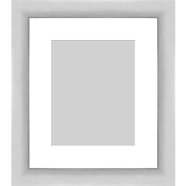 PTM Images Contemporary Photo Frame; Silver