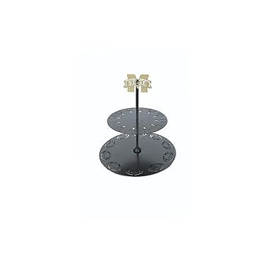 HensonMetalWorks Collegiate Logo 2 Tiered Stand; Mississippi State