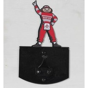 HensonMetalWorks Wall Mounted Coat Hook; Ohio State