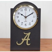 HensonMetalWorks Collegiate Desk Clock; Alabama