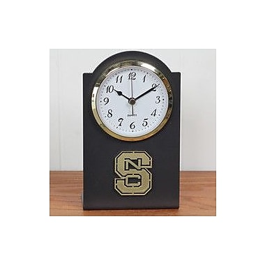 HensonMetalWorks Collegiate Desk Clock; North Carolina State