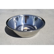 Concord Large Heavy Grade Bake Prep Mixing Bowl; 50 Quart