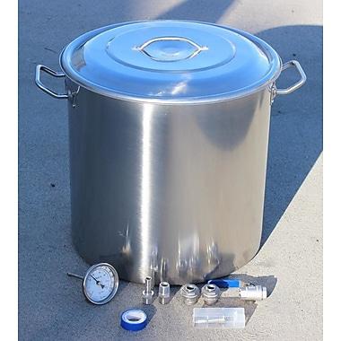 Concord Beer Stock Pot w/ Lid; 80 Quart