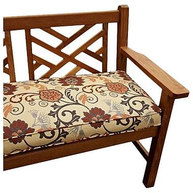 Mozaic Company Outdoor Sunbrella Bench Cushion; 60'' W x 19'' D