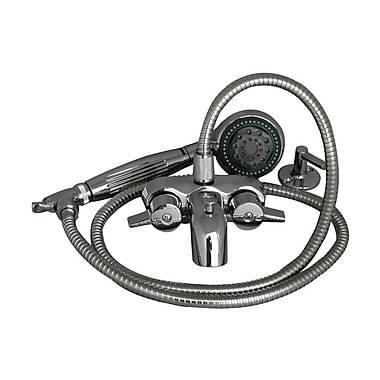 Barclay Wall Mounted Tub Filler w/ Hand-Held Handshower