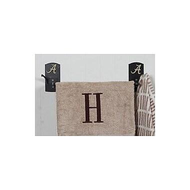 HensonMetalWorks Collegiate Wall Mounted Towel Bar; Alabama