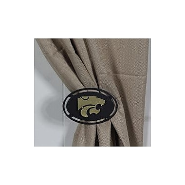 HensonMetalWorks Curtain Tieback (Set of 2); Kansas State