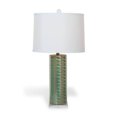 Port 68 Cameron 34'' Table Lamp; Turquoise