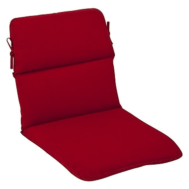 Pillow Perfect Outdoor Lounge Chair Cushion; 42.5'' x 21'' x 3''
