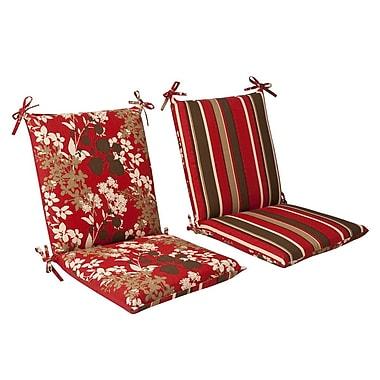 Pillow Perfect Montifleuri Outdoor Lounge Chair Cushion; 37'' x 18'' x 3''