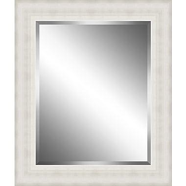 Ashton Wall D cor LLC Wood Framed Beveled Plate Glass Mirror; Large