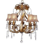 Jubilee Collection Ballroom 5-Light Shaded Chandelier