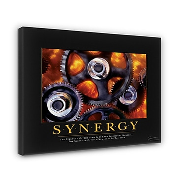 Successories Synergy Motivational Graphic Art on Wrapped Canvas