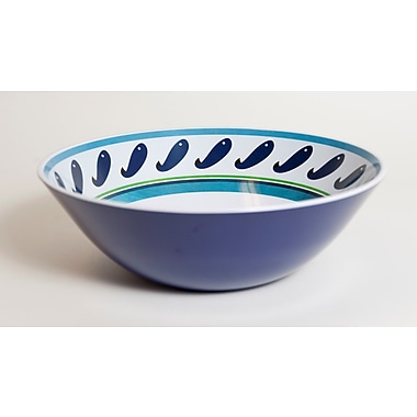 Galleyware Company Yacht and Home Sand Dollar Melamine Serving Bowl