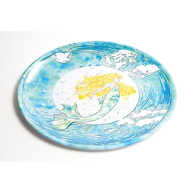 Galleyware Company Yacht and Home Mermaid Melamine Oval Platter
