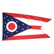 Annin Flagmakers Ohio State Flag; 3' x 5'