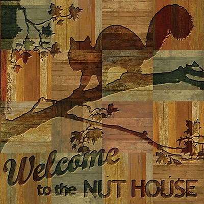 Thirstystone Welcome to the Nut House Occasions Coasters Set (Set of 4)