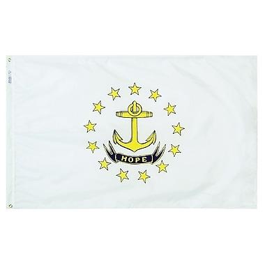 Annin Flagmakers Rhode Island State Flag; 3' x 5'