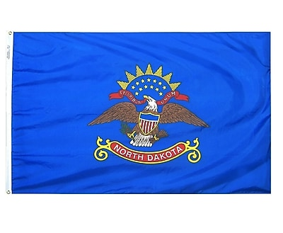 Annin Flagmakers North Dakota State Flag; 3' x 5'