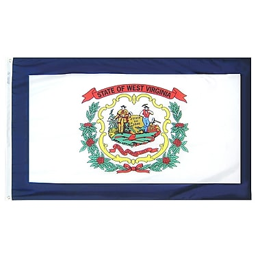 Annin Flagmakers West Virginia State Flag; 4' x 6'