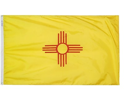 Annin Flagmakers New Mexico State Flag; 3' x 5' WYF078276463049