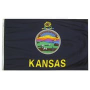 Annin Flagmakers Kansas State Flag; 4' x 6'