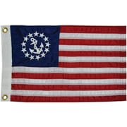 Taylor Made Products Sewn U.S. Yacht Traditional Flag; 20'' H x 30'' W
