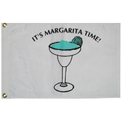 Taylor Made Products Novelty Design 'It's Margarita Time' Traditional Flag