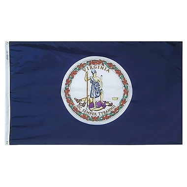 Annin Flagmakers Virginia State Flag; 3' x 5'