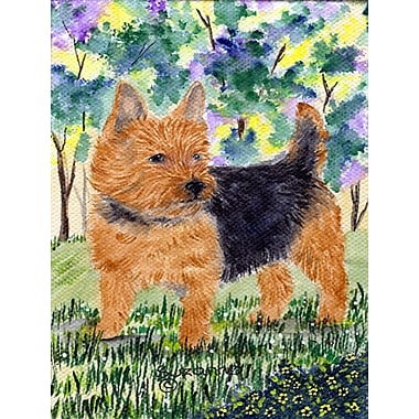 Caroline's Treasures Norwich Terrier 2-Sided Garden Flag