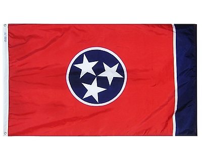 Annin Flagmakers Tennessee State Flag; 4' x 6'