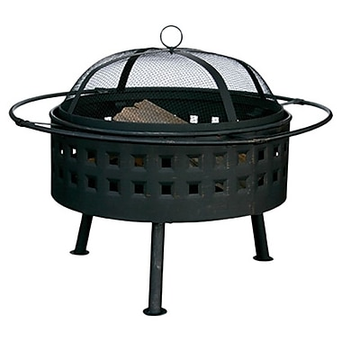 Uniflame Stainless steel Wood Burning Fire pit