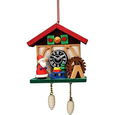 Alexander Taron Christian Ulbricht Cuckoo Clock Santa Ornament