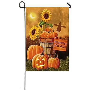 Evergreen Flag & Garden Pumpkin Patch for Sale Garden Flag