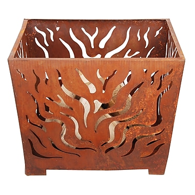 EsschertDesign Laser Cut Steel Wood Burning Fire pit