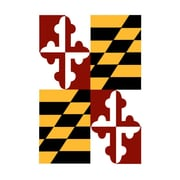 Evergreen Flag & Garden Maryland State Garden Flag