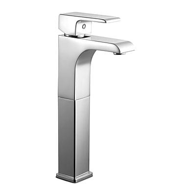 Design House Lyss Single Handle Single Hole Vessel Faucet; Polished Chrome