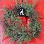 HensonMetalWorks Collegiate Wreath Holder Decoration; Alabama