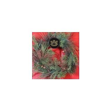 HensonMetalWorks Collegiate Wreath Holder Decoration; Auburn
