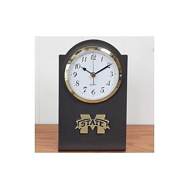 HensonMetalWorks Collegiate Desk Clock; Mississippi State