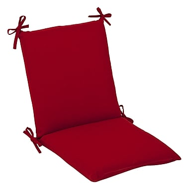 Pillow Perfect Outdoor Lounge Chair Cushion; 37'' x 18'' x 3''