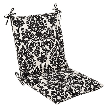 Pillow Perfect Essence Outdoor Dining Chair Cushion; 37'' x 18'' x 3''