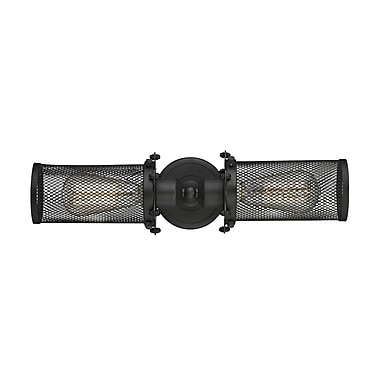Innovations Lighting Quincy Hall 2-Light Bowtie Wall Sconce; Oiled Rubbed Bronze